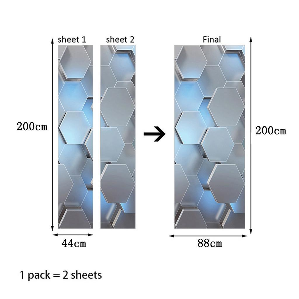 miniatura 13 - 3D Porta Adesivi Murali Decalcomanie Autoadesivo Adesivo Murale Carta Da