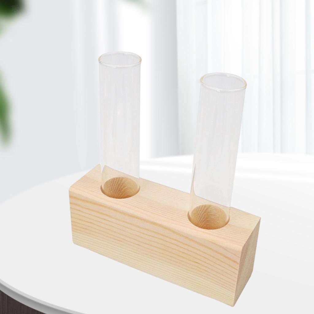 Indexbild 6 - Glas Reagenzglas Vase Pflanzgefäß Blumentöpfe Terrarium für