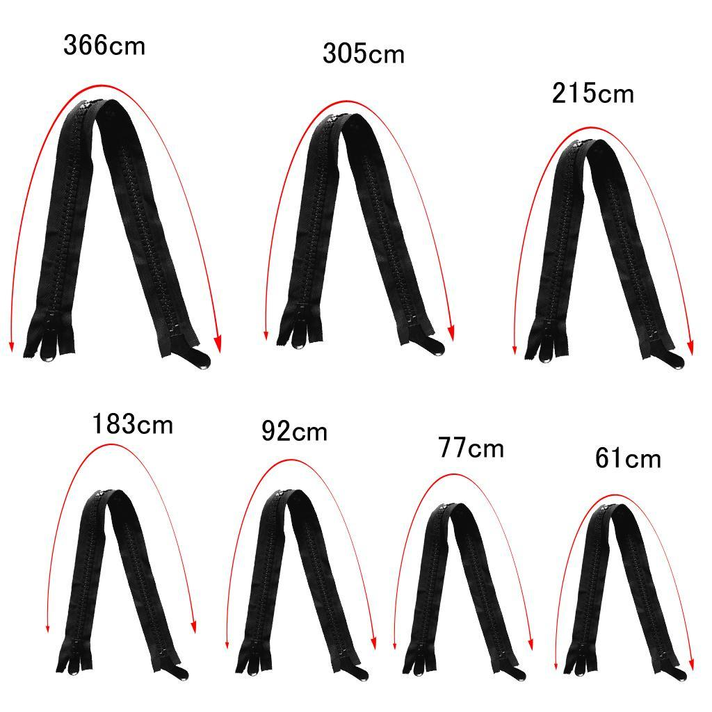 Fermetures-A-Glissieres-Zippers-Ouvrables-Separables miniature 21