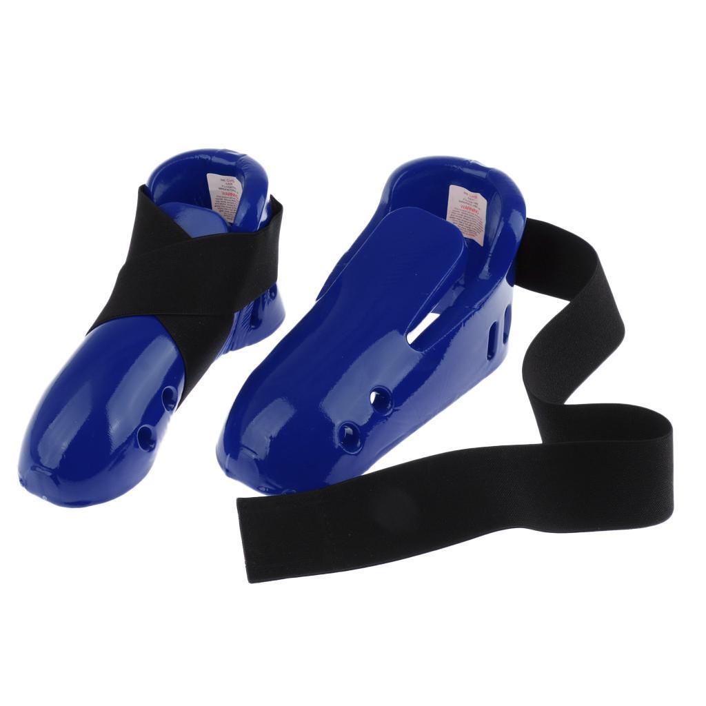 Indexbild 5 - Foam Pad Kids Taekwondo Fußschutz Karate Sparring Feet Protector Footgear