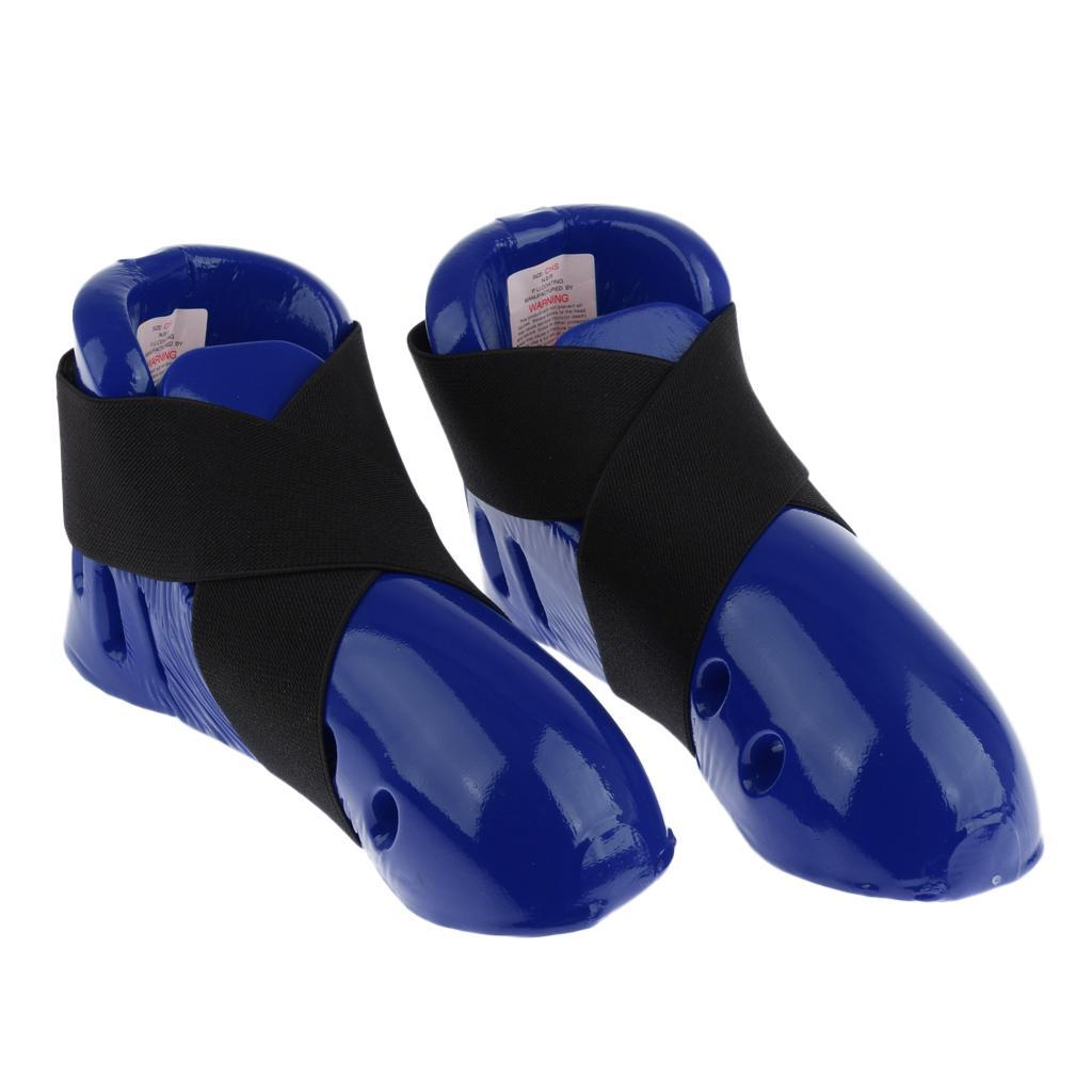 Indexbild 6 - Foam Pad Kids Taekwondo Fußschutz Karate Sparring Feet Protector Footgear