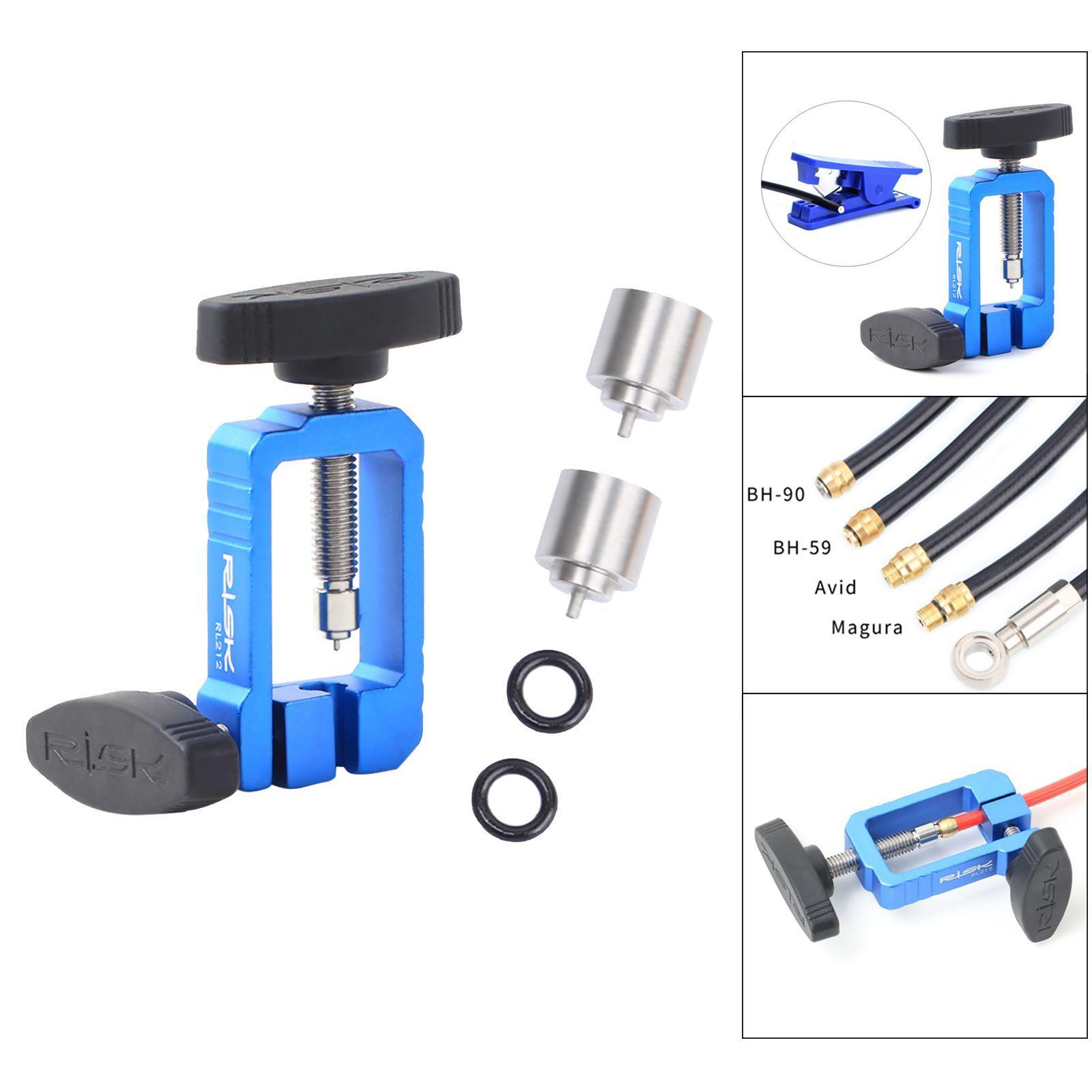 Bike Needle Driver Inserting Pressing Tool Hydraulic Hose Fitting Fix Tool