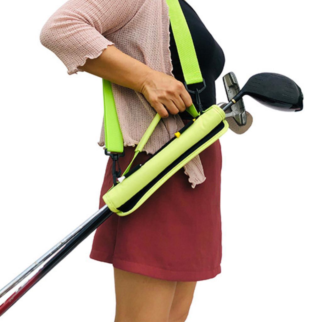 Portable-Mini-Golf-Club-Carrier-3-4-Club-Carry-Bag-Holder-Pack-for-Driving-Range thumbnail 11