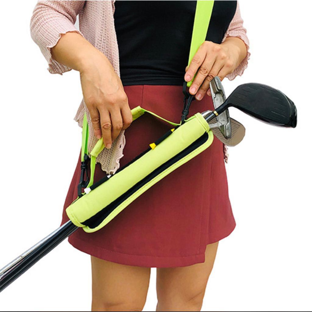 Portable-Mini-Golf-Club-Carrier-3-4-Club-Carry-Bag-Holder-Pack-for-Driving-Range thumbnail 12