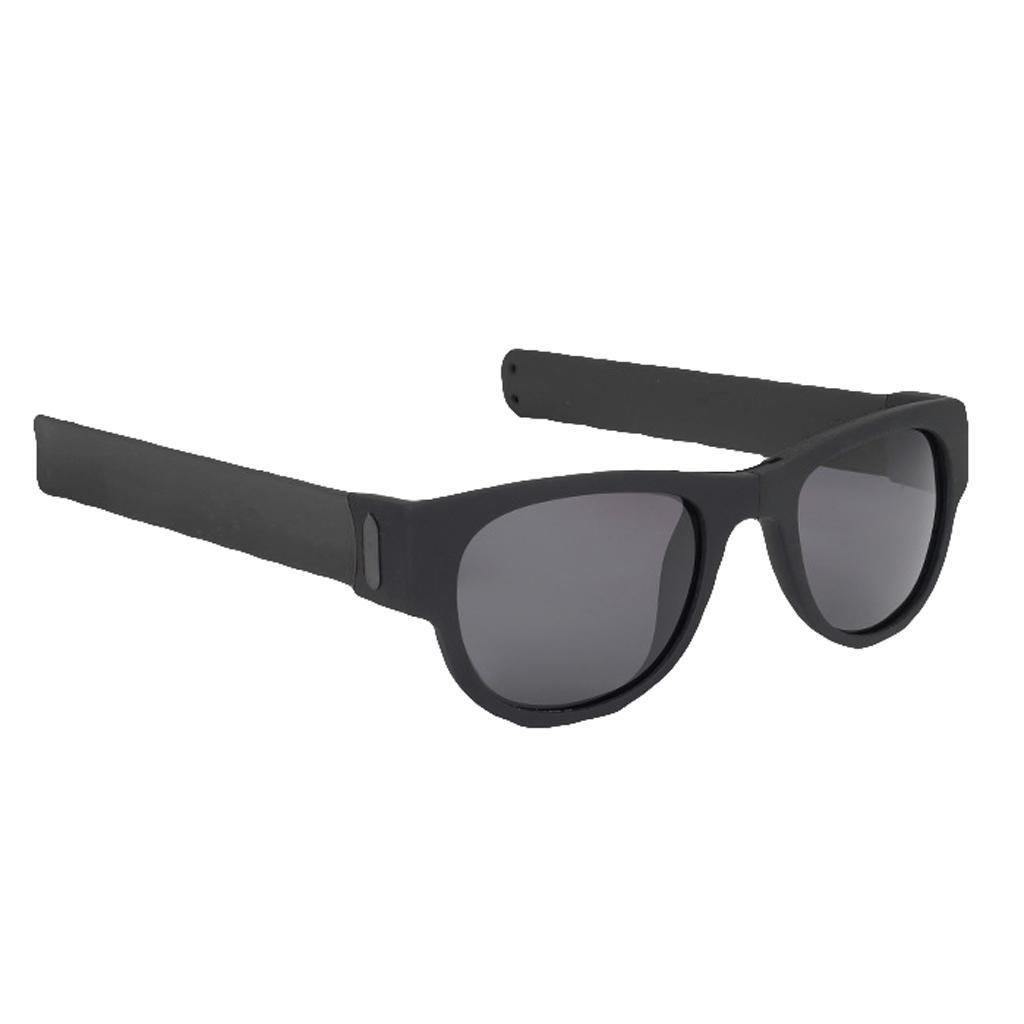 Faltbare Sonnenbrille Sonnenbrille Erwachsene Ohrfeigen Armband Trendy Eyewear