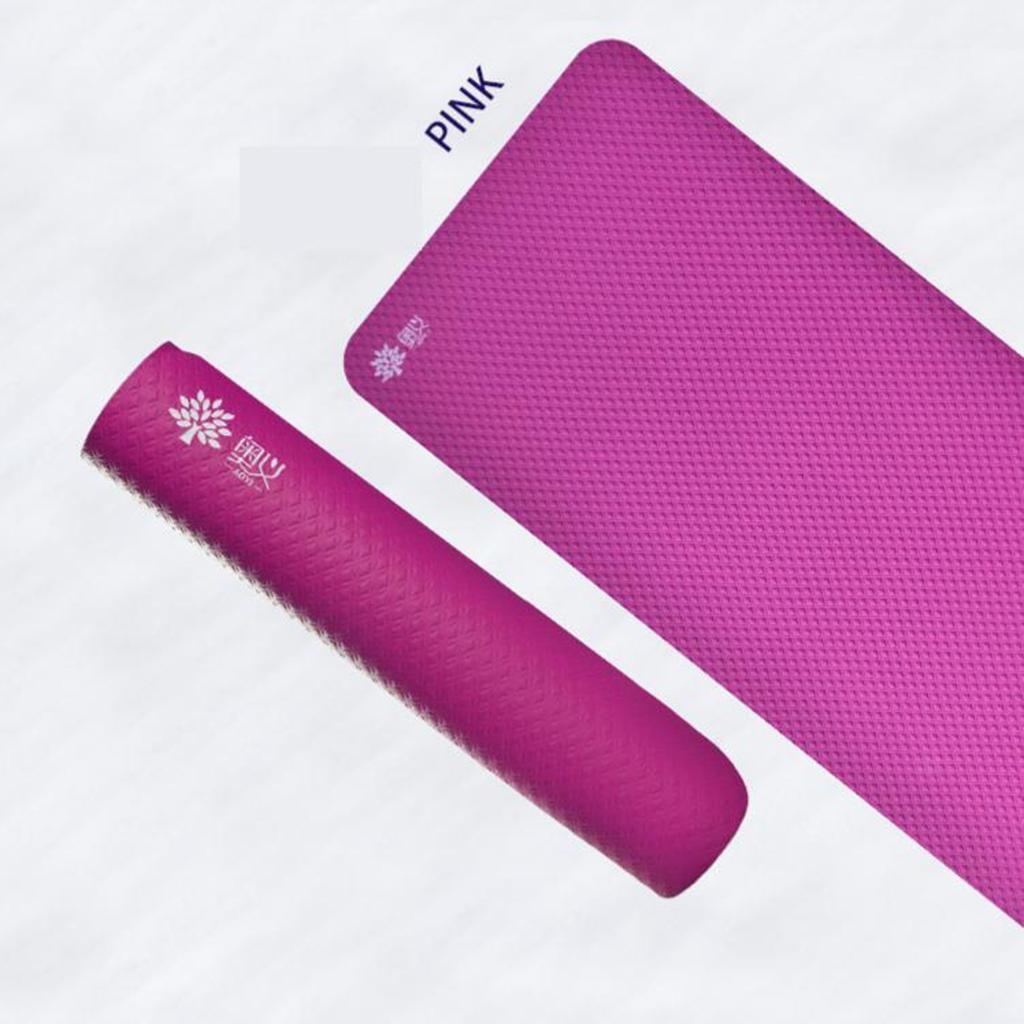 Tapis-de-Yoga-Fitness-185x8-0cm-15mm-Epais-NBR-Antiderapant-Securite-de miniature 6