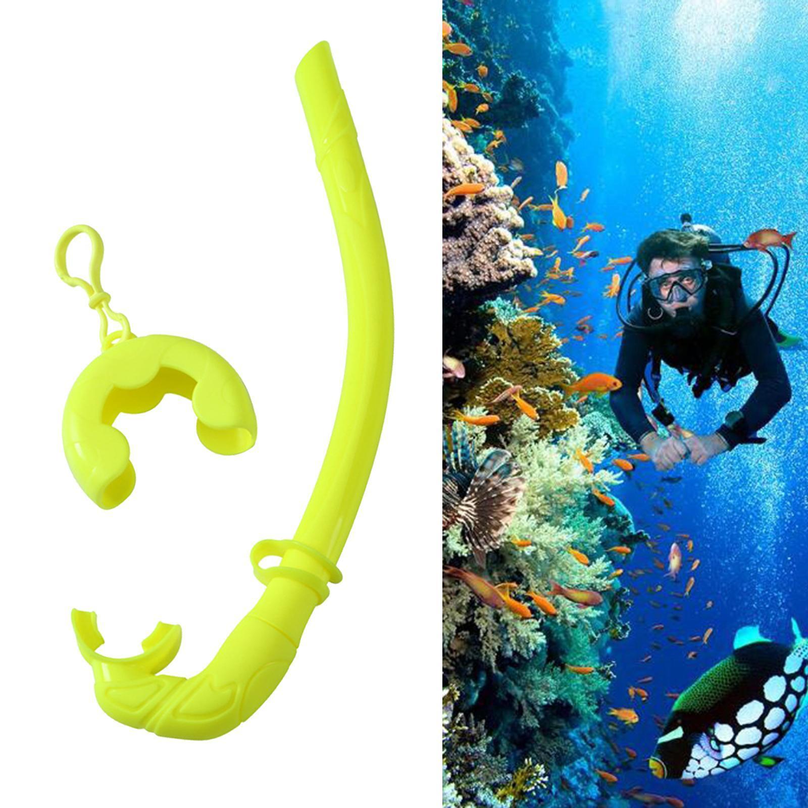 Indexbild 13 - Premium Wet Snorkel Women Men Adults Snorkels Breathing Tube Breath Tube