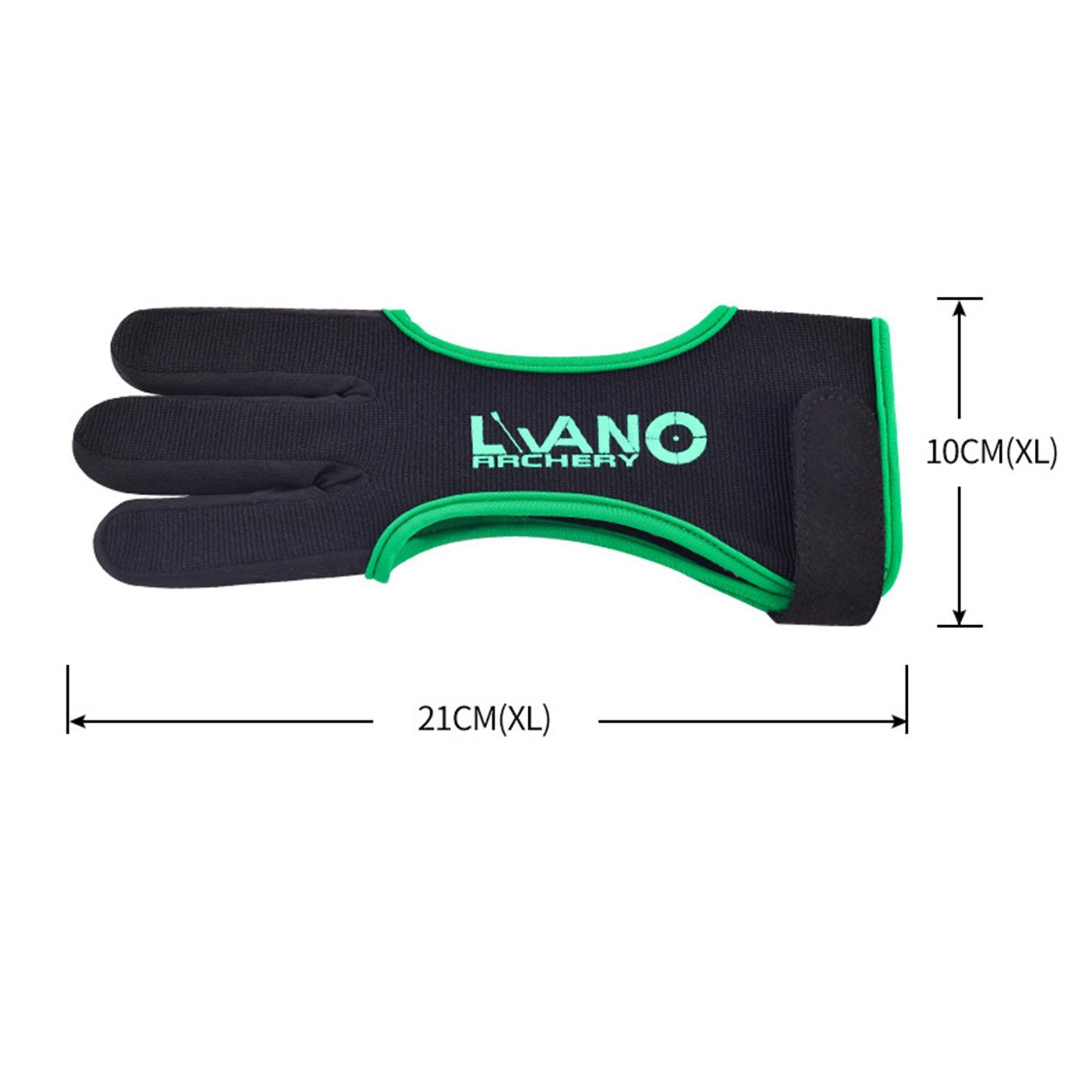 thumbnail 79 - Archery Glove for Recurve & Compound Bow 3 Finger Guard for Women Men Youth