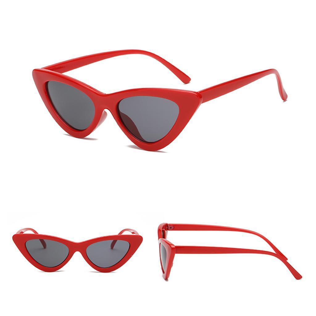 2er-Pack-Frauen-Vintage-Dreieck-Verspiegelte-Sonnenbrille-Brillen-Designer Indexbild 10