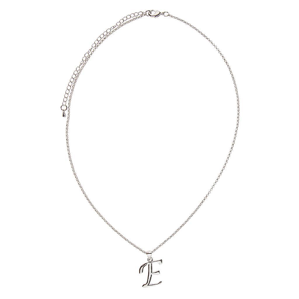 A-Z-Alphabet-Initial-Letter-Pendant-Necklace-Chain-Choker-Jewelry-Men-Women thumbnail 18
