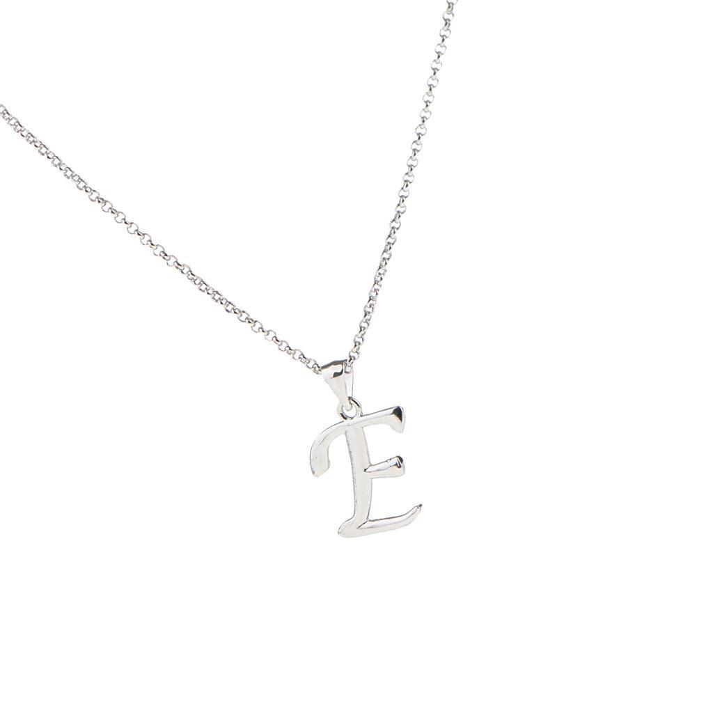A-Z-Alphabet-Initial-Letter-Pendant-Necklace-Chain-Choker-Jewelry-Men-Women thumbnail 19