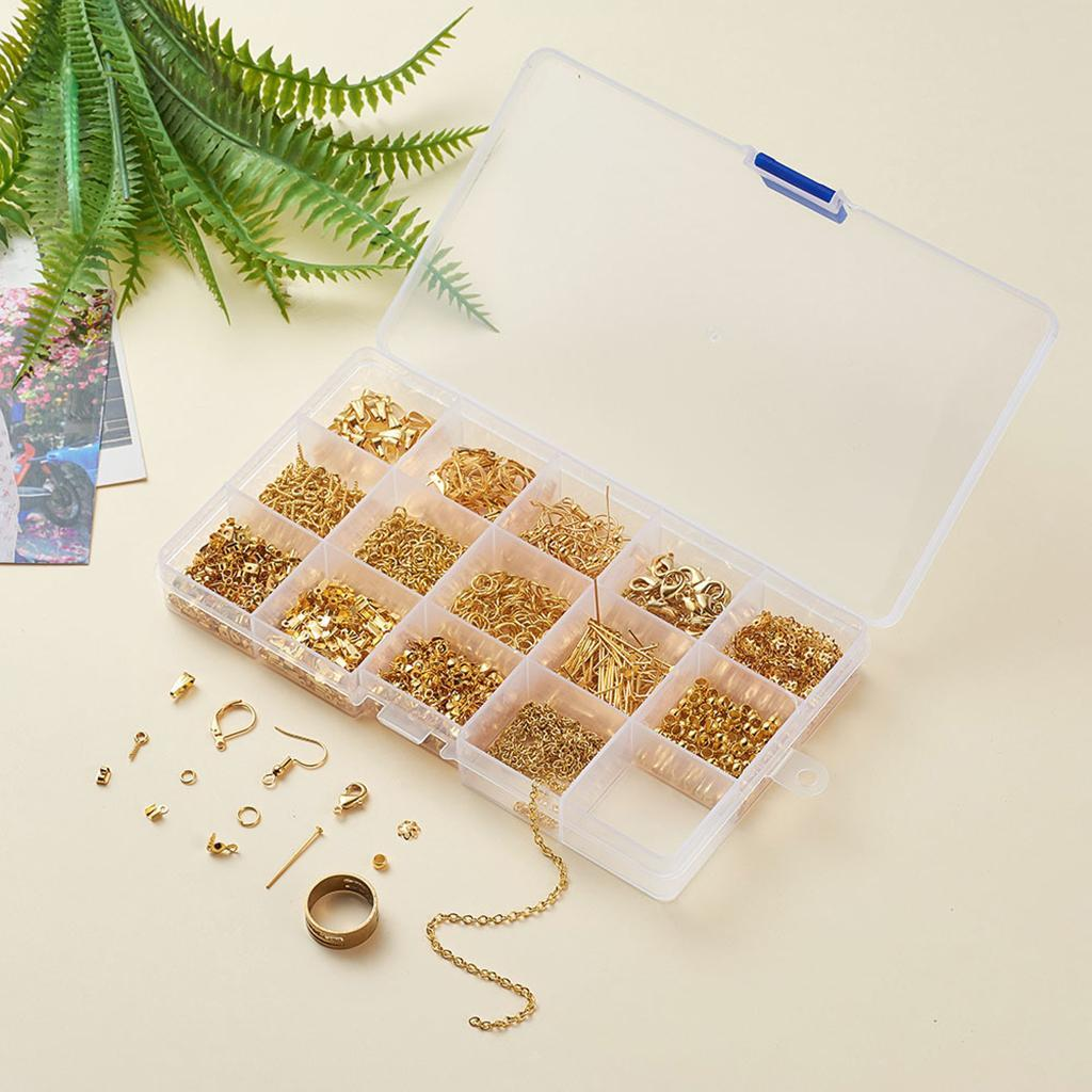 Ohrring-Haken-Ohrring-Der-Lieferungen-Kit-Ohrring-Erkenntnisse-DIY-fuer-Frauen Indexbild 18