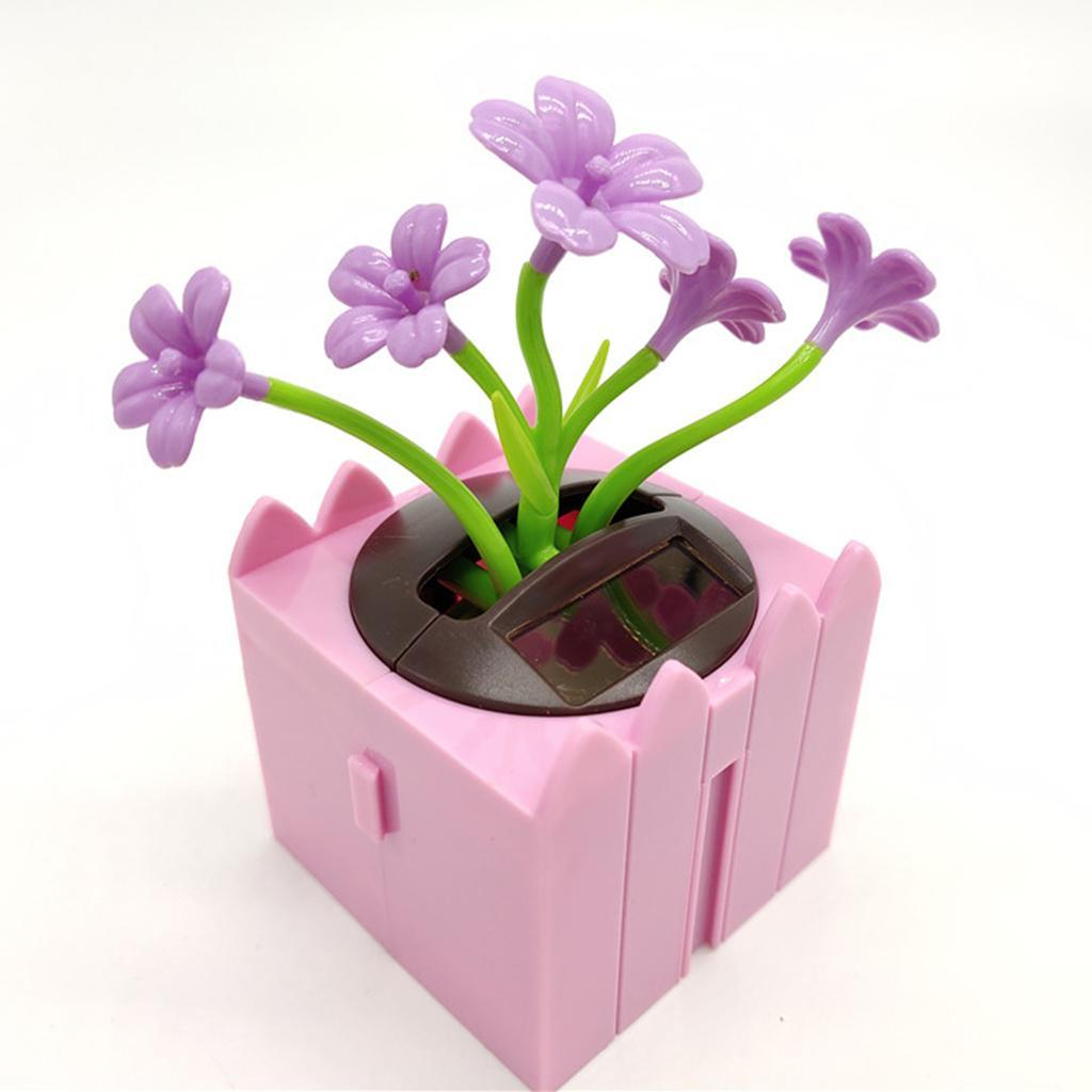 Cute-Dancing-Shaking-Swing-Flower-Blossom-Flowery-Bonsai-Toys-Office-Decor thumbnail 4