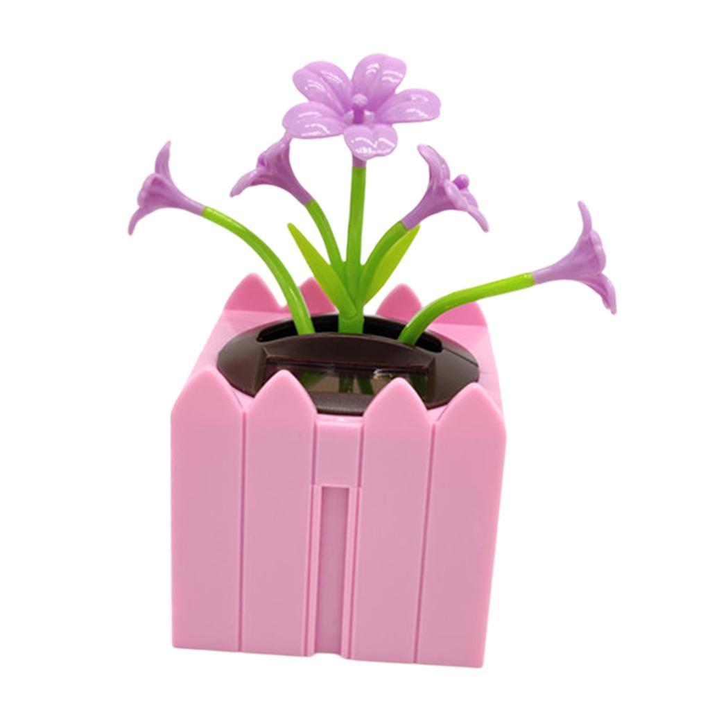 Cute-Dancing-Shaking-Swing-Flower-Blossom-Flowery-Bonsai-Toys-Office-Decor thumbnail 3