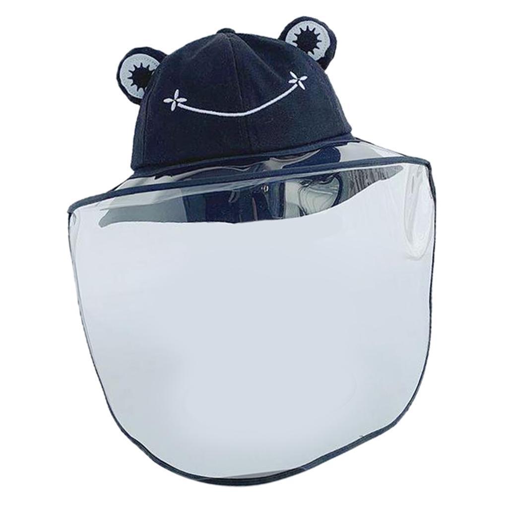 Baby-Transparent-Face-Shield-Anti-Spitting-Hat-Dust-Sun-Protective-Fishman-Caps thumbnail 9