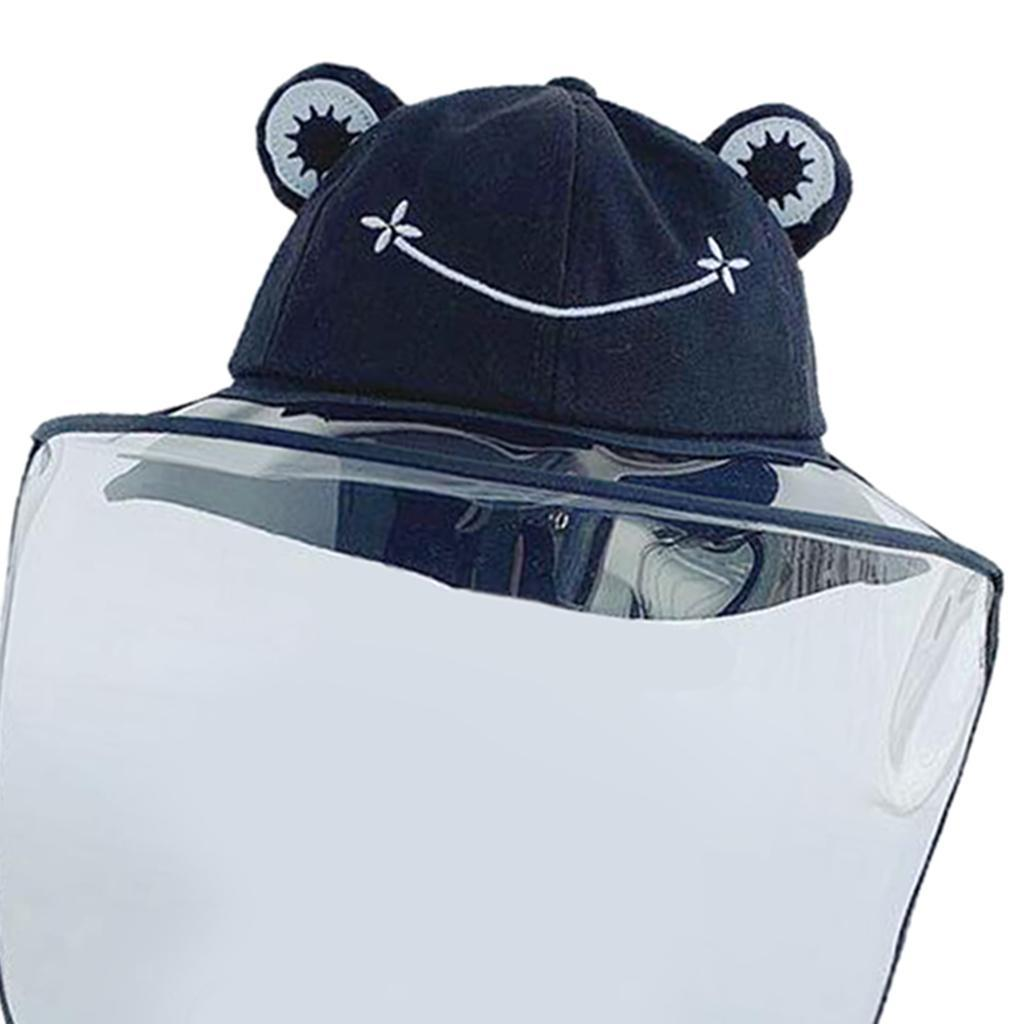 Baby-Transparent-Face-Shield-Anti-Spitting-Hat-Dust-Sun-Protective-Fishman-Caps thumbnail 10
