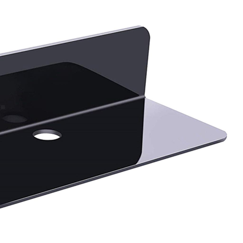 Estante-de-pared-flotante-de-acrlico-soporte-de-exhibicin-extrable-para-altavoce miniatura 8