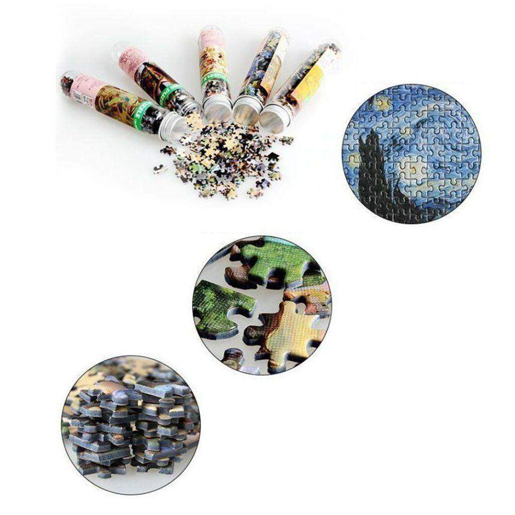 miniatura 35 - Pittura A olio di Puzzle Puzzle di Prova Tubo Capsula Gioco Di Puzzle