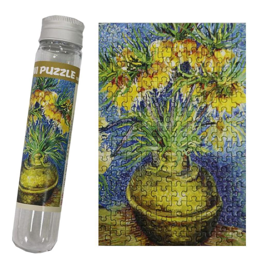 miniatura 119 - Pittura A olio di Puzzle Puzzle di Prova Tubo Capsula Gioco Di Puzzle