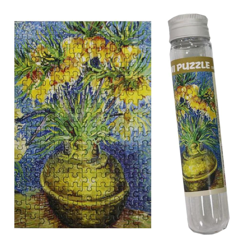 miniatura 121 - Pittura A olio di Puzzle Puzzle di Prova Tubo Capsula Gioco Di Puzzle