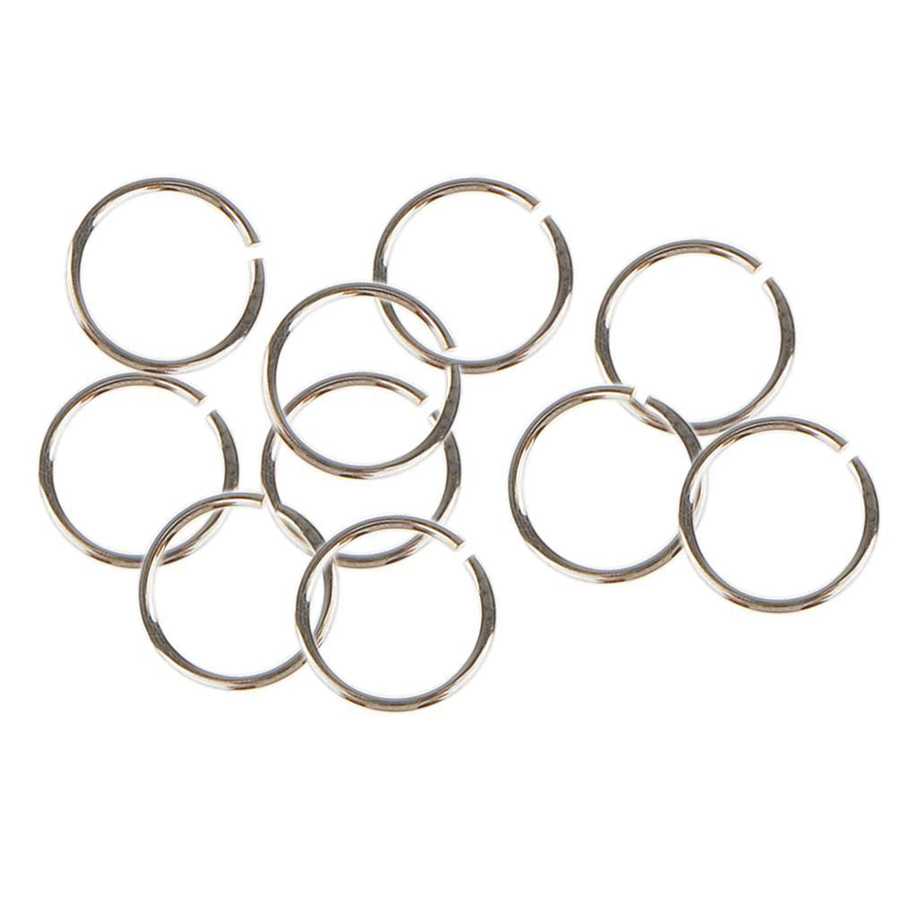 10x-anneaux-de-saut-pour-bijoux-3-4-5-6mm-ouvert-fendu-fermoir-connecteur-925-ar miniature 5