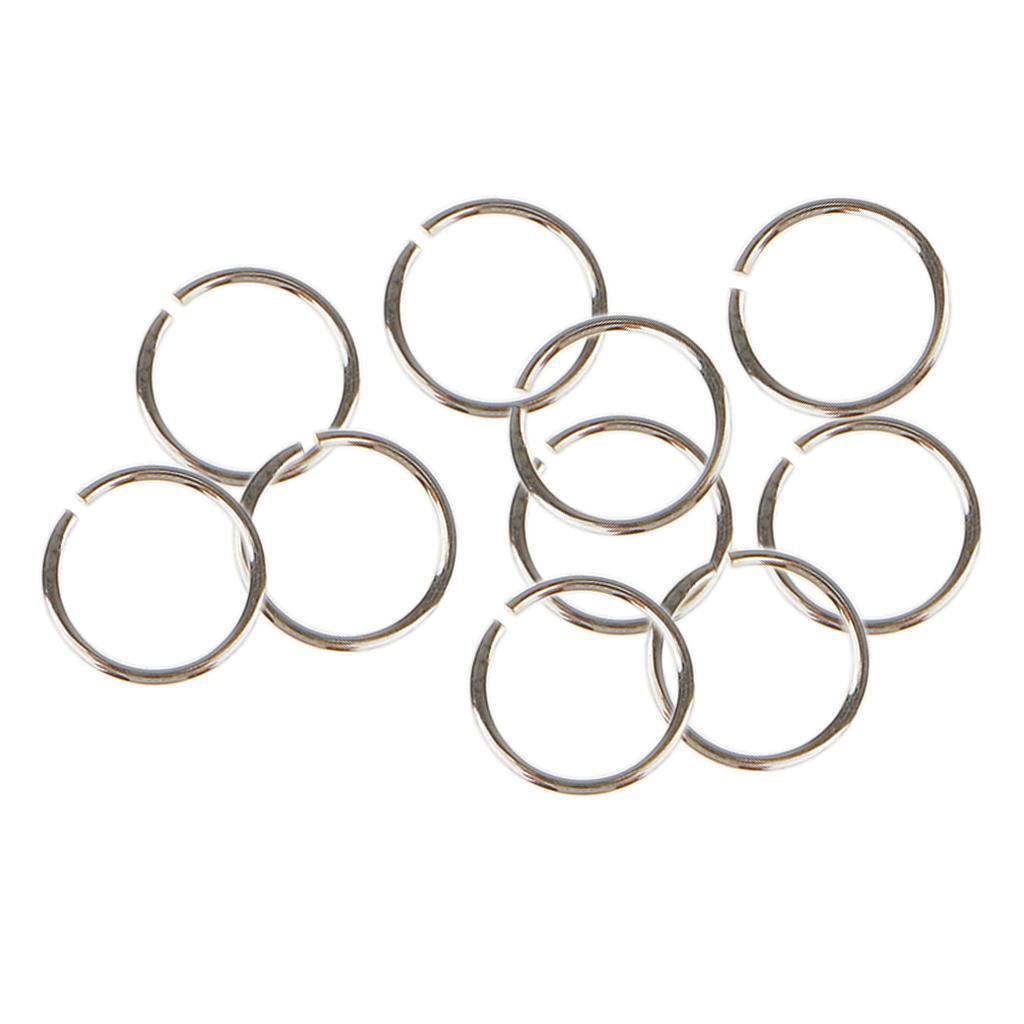 10x-anneaux-de-saut-pour-bijoux-3-4-5-6mm-ouvert-fendu-fermoir-connecteur-925-ar miniature 6