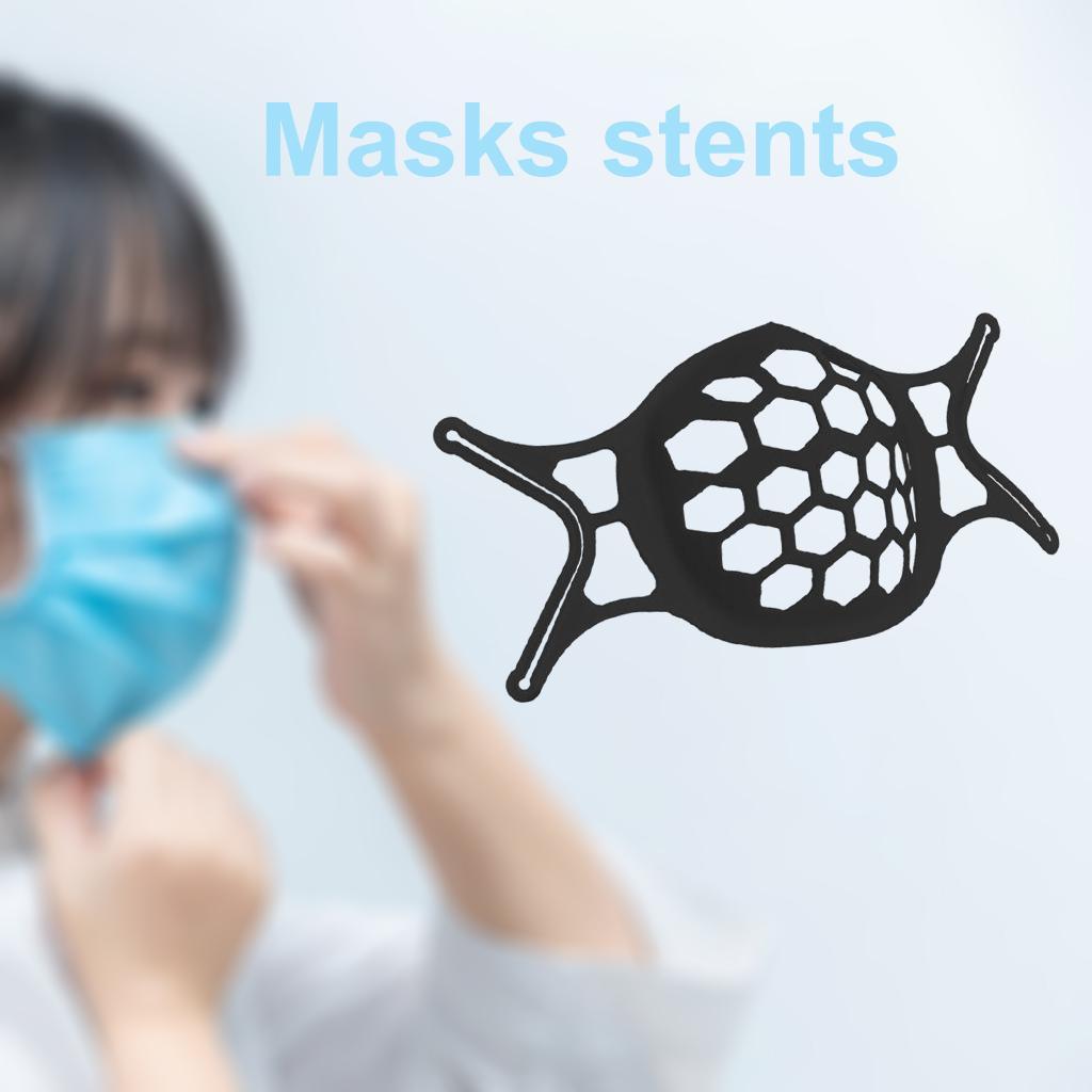 Unisex 3D Face Mask Bracket Inner Protective Support Safety Holder for Nose