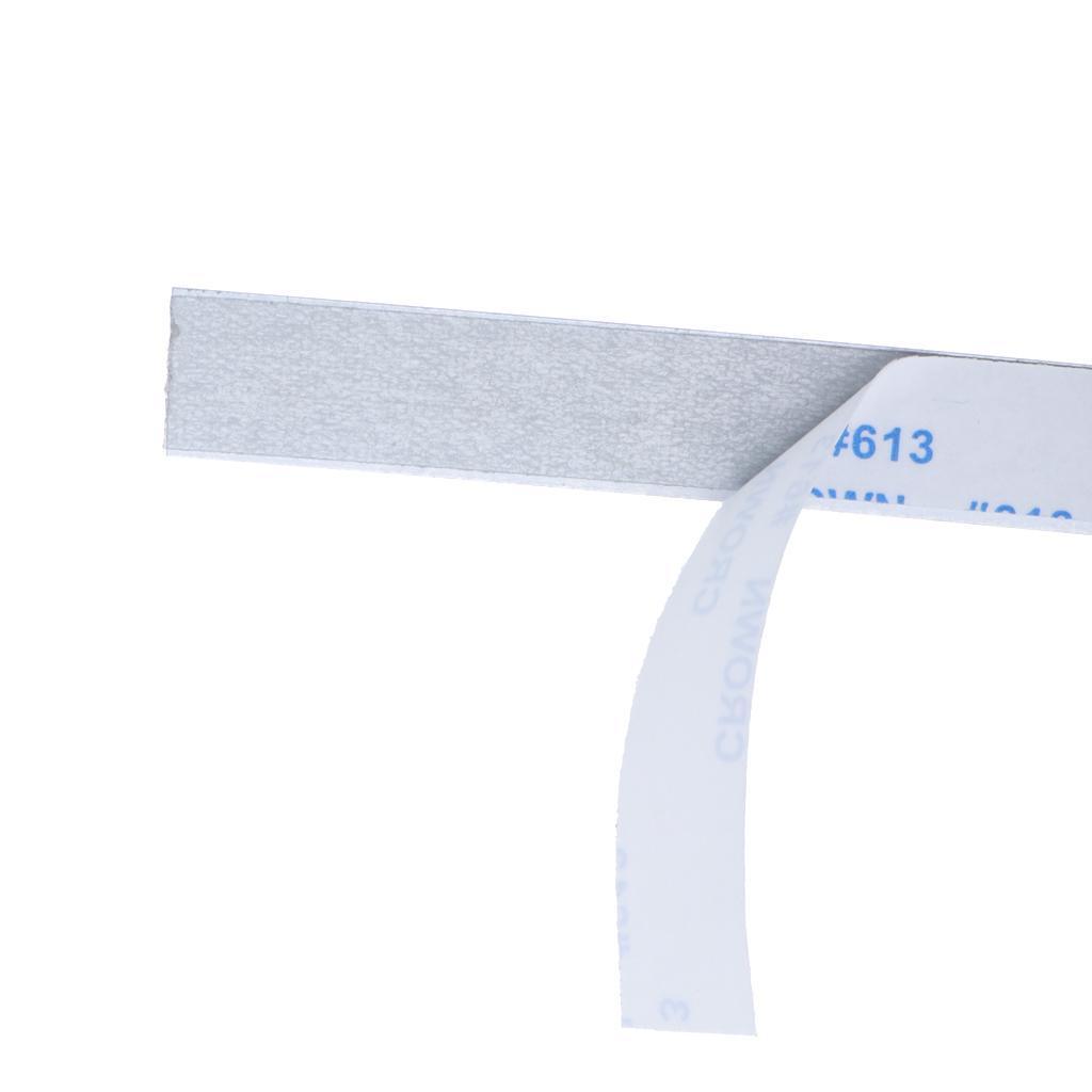 Indexbild 10 - Selbstklebendes Maßband Gehrungssägen Band Rückenlehne Stahllineal, Unterlage
