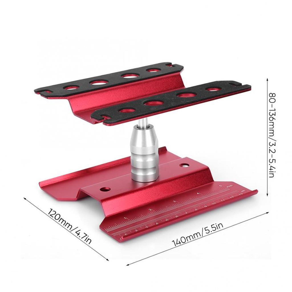 Aluminium RC Auto Stand Work Station Reparatur Werkzeuge Für 1//16 1//10 1//8