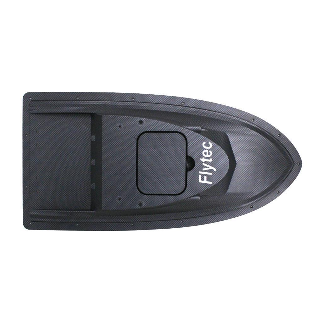 Electric-Fishing-RC-Bait-Boat-Hull-Top-Shell-Black-for-Flytec-V007-Parts thumbnail 8