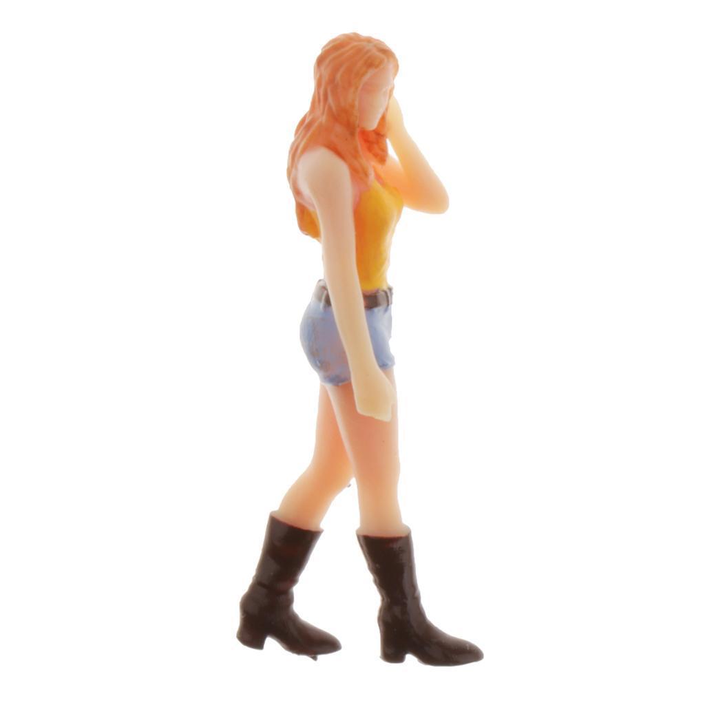 miniature 11 - 1/64 Homme Simulation Figurines Modèles Miniatures Cadeaux Bricolage pour