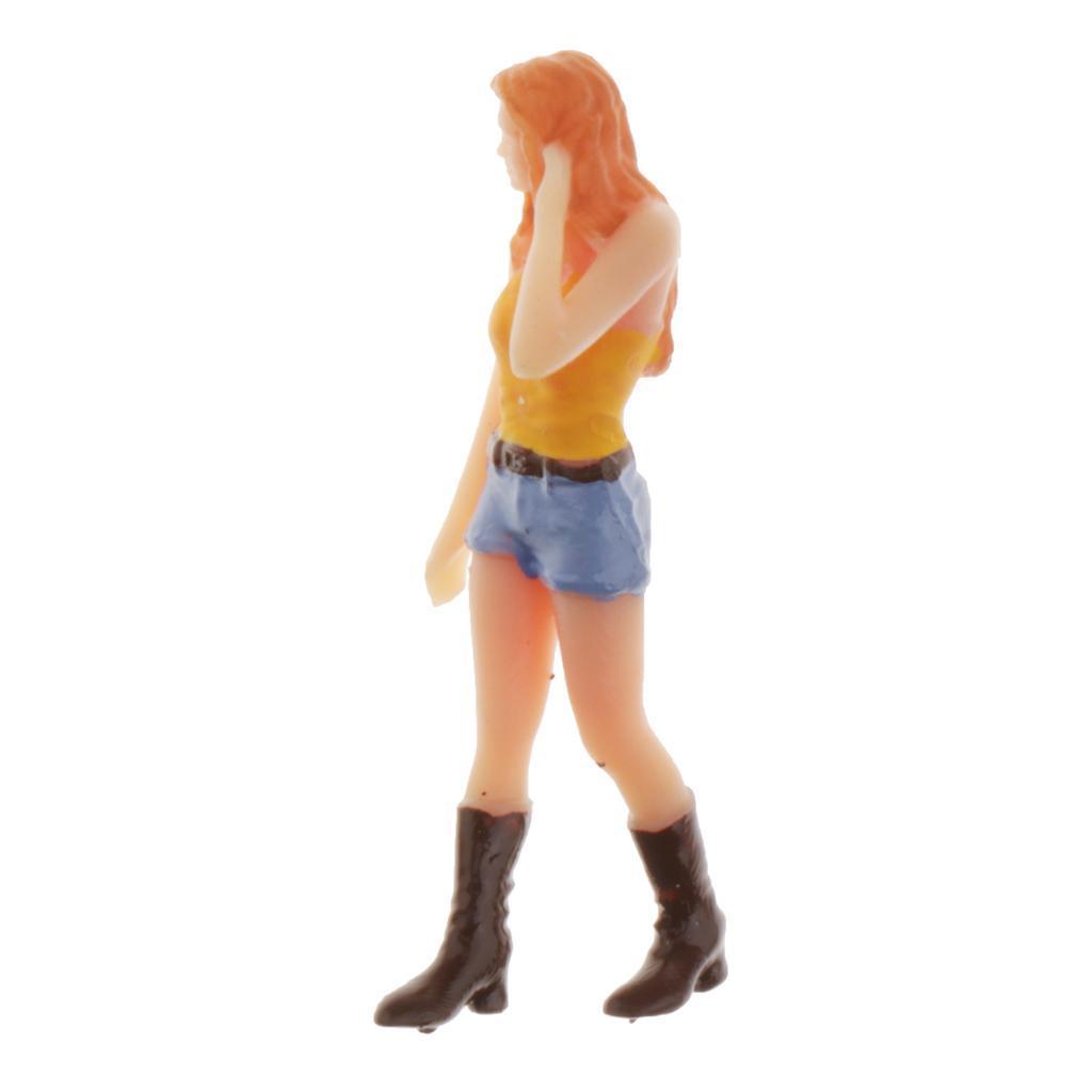 miniature 10 - 1/64 Homme Simulation Figurines Modèles Miniatures Cadeaux Bricolage pour