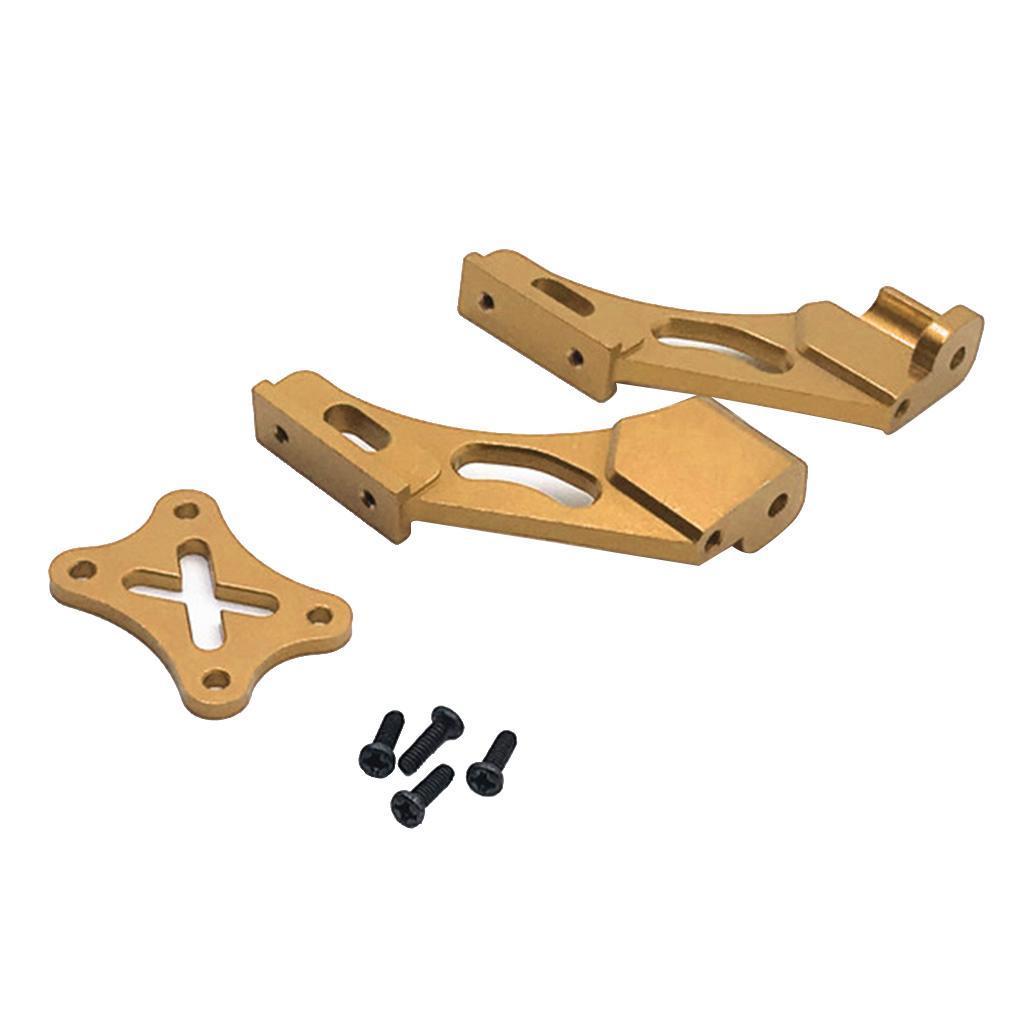 Set-di-parti-fisse-per-coda-in-metallo-per-auto-RC-per-WLTOYS-144001 miniatura 9