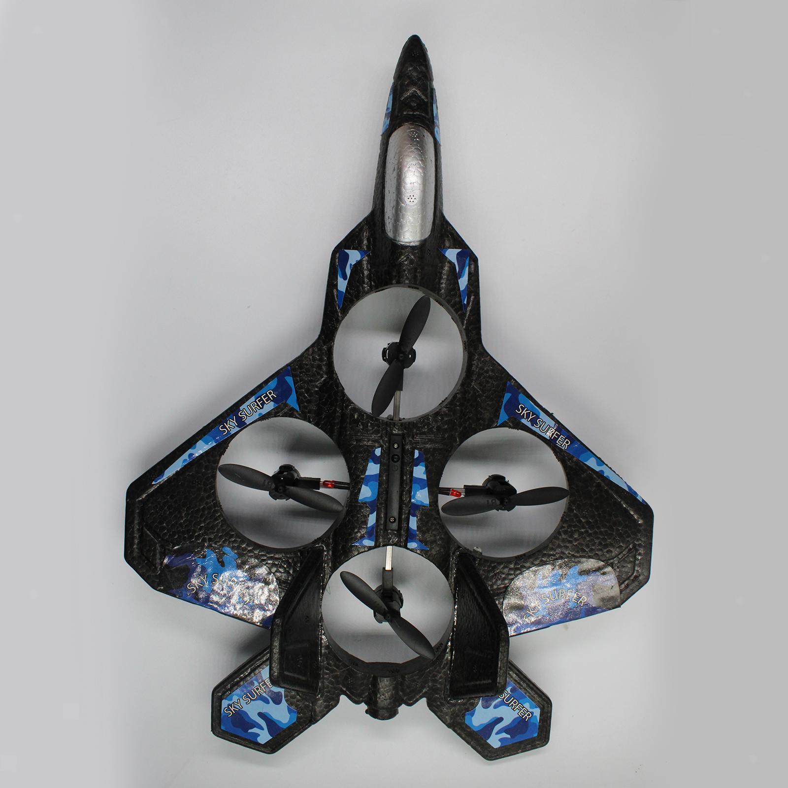 miniatura 10 - A ala fissa 2.4G telecomando aereo RC Aereo Aliante Da Combattimento Modello Giocattolo