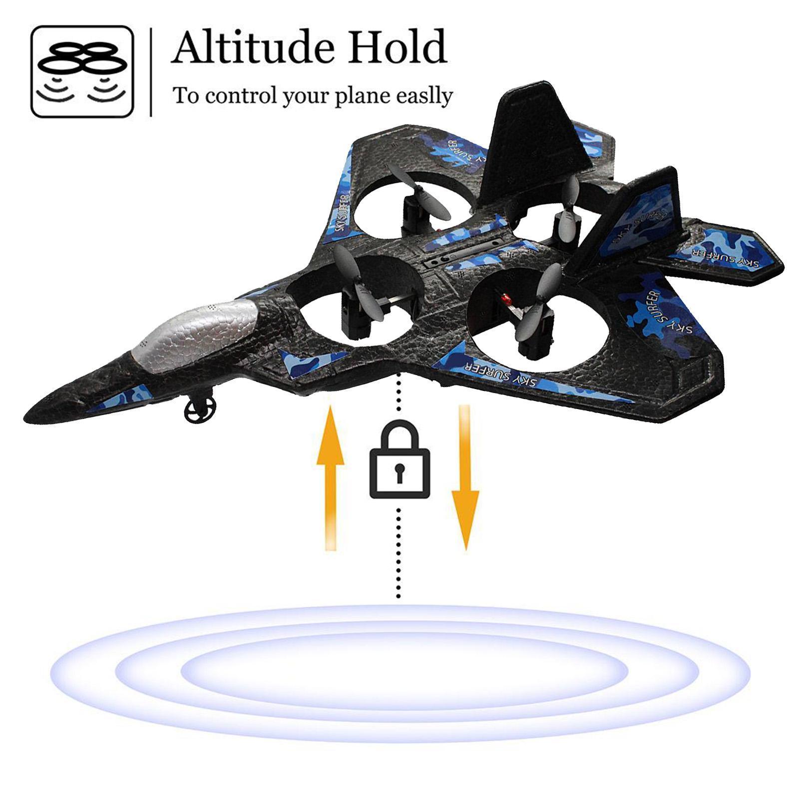 miniatura 4 - A ala fissa telecomando aereo RC aereo aeroplano modello giocattolo per bambini
