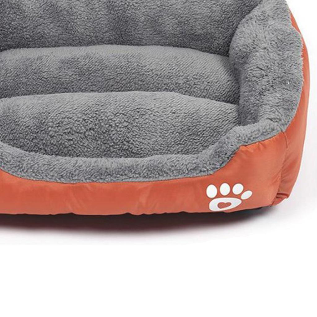 miniature 12 - Doux en peluche lit pour animaux de compagnie chien chat coussin de couchage