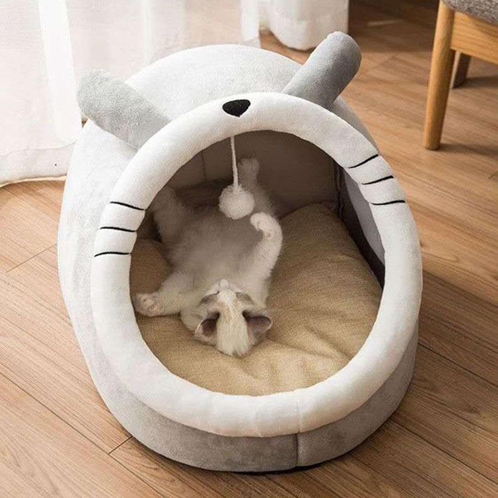 Indexbild 3 - Haustier hund katzen haus zwinger zelt mode welpe winter warmes bett haus höhle