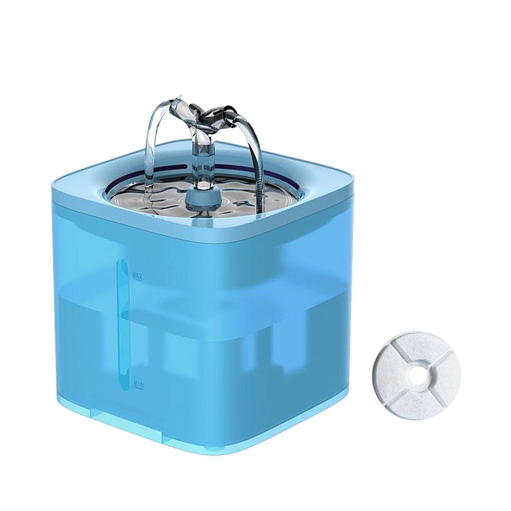 miniature 9 - 2L Chat Électrique Automatique Fontaine D'eau Potable Distributeur Bol USB