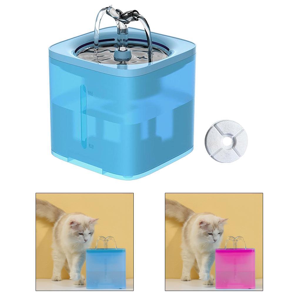 miniature 12 - 2L Chat Électrique Automatique Fontaine D'eau Potable Distributeur Bol USB
