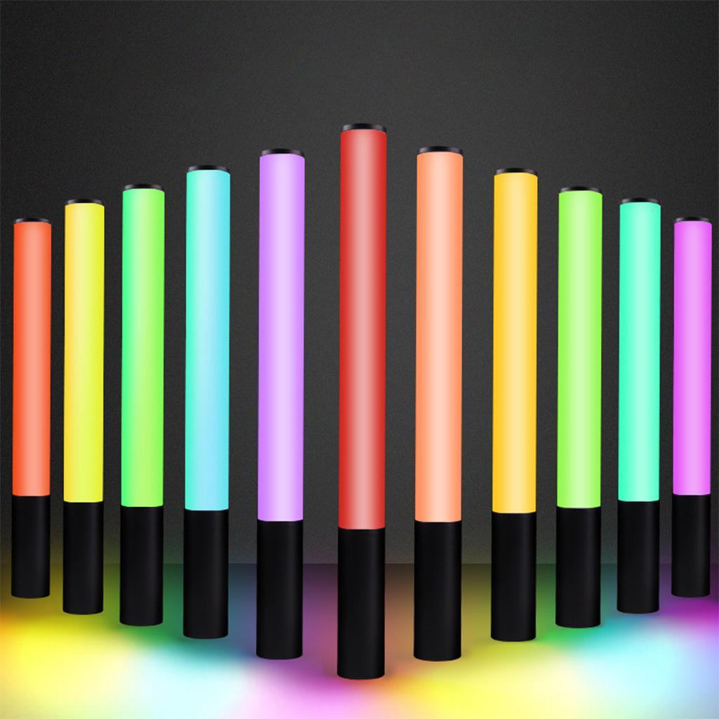 RGB Video Licht Fotografie Beleuchtung USB wiederauf ladbare 2500K-9900K