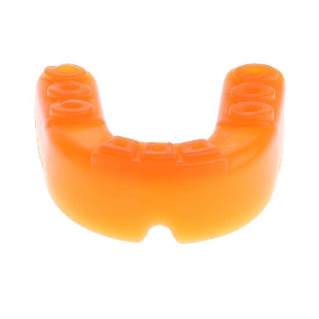 Indexbild 19 - EVA Adult Youth Mouthguard   Zahnknirschen Mundschutz Gum Shield für