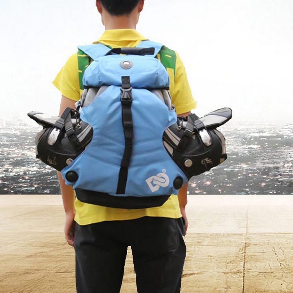 Inline-Skates-Backpack-Men-Women-Adjustable-Roller-Skates-Carry-Shoulder-Bag thumbnail 28