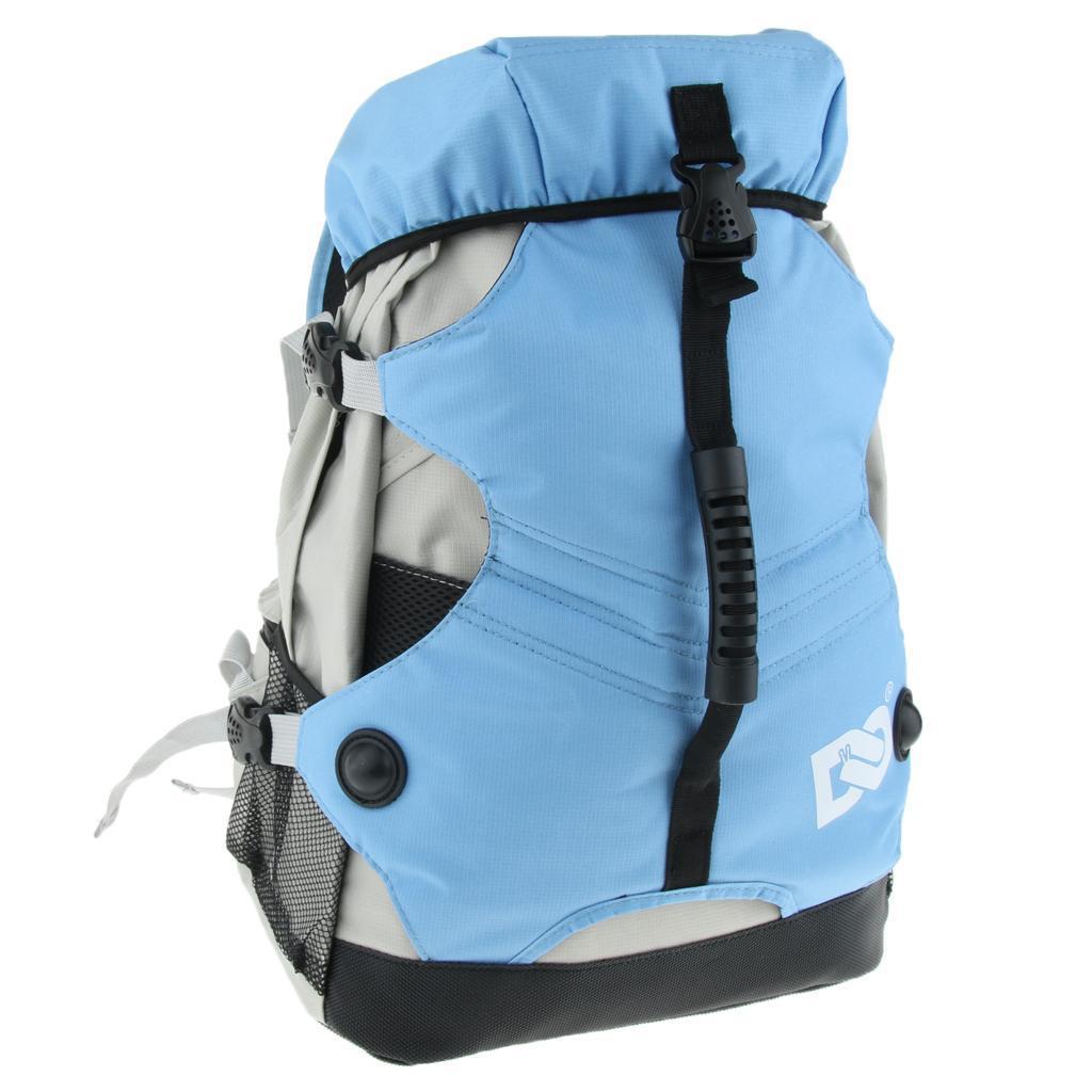 Inline-Skates-Backpack-Men-Women-Adjustable-Roller-Skates-Carry-Shoulder-Bag thumbnail 20
