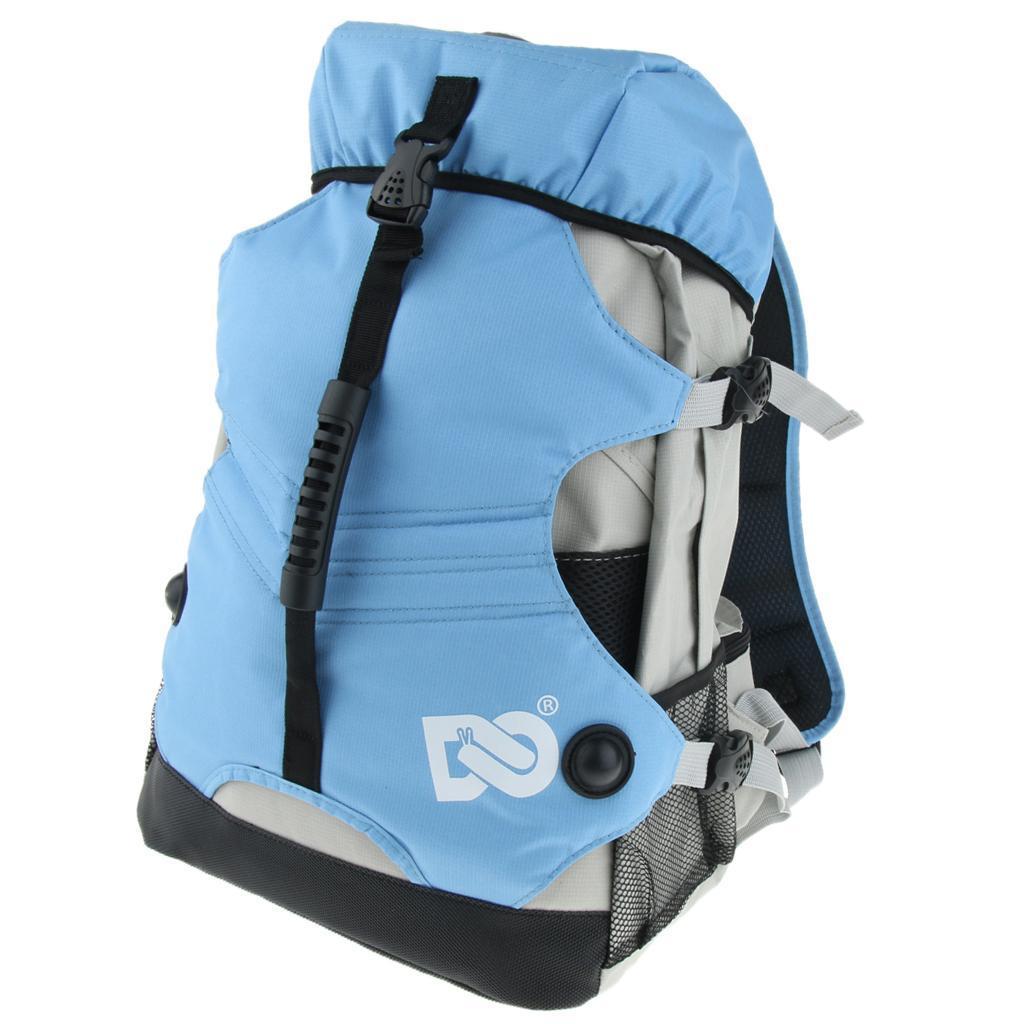 Inline-Skates-Backpack-Men-Women-Adjustable-Roller-Skates-Carry-Shoulder-Bag thumbnail 21
