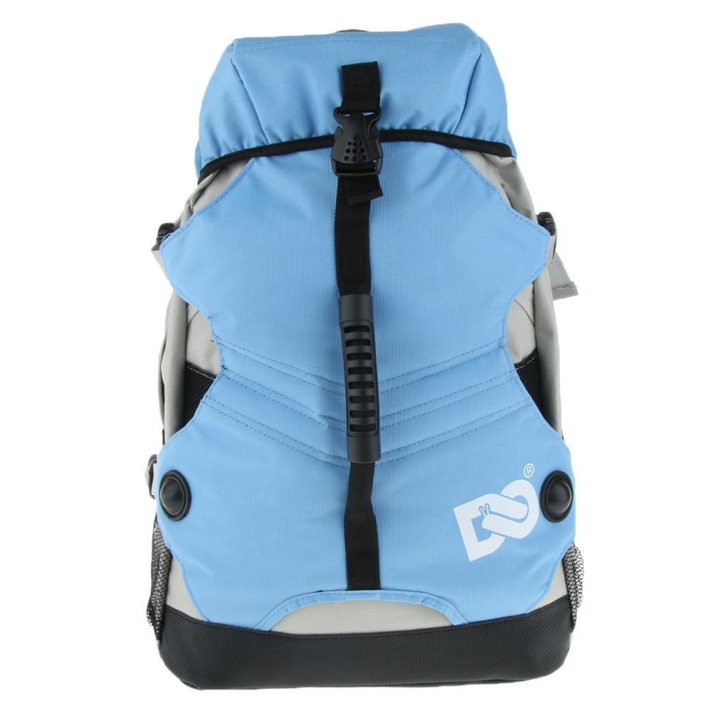 Inline-Skates-Backpack-Men-Women-Adjustable-Roller-Skates-Carry-Shoulder-Bag thumbnail 22