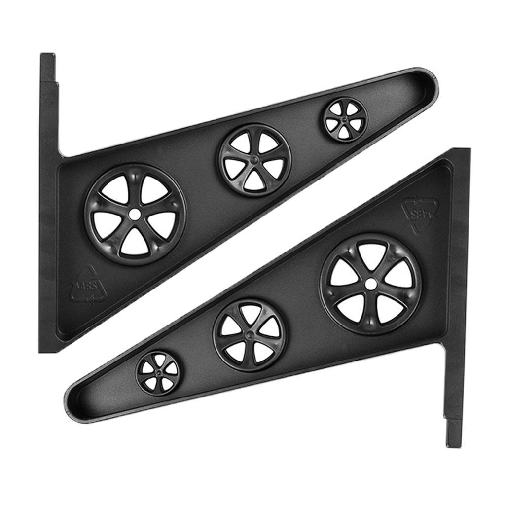 Scaffalature-per-skateboard-1-paio-3-paia-di-montaggio-a-parete-per-tavola miniatura 4