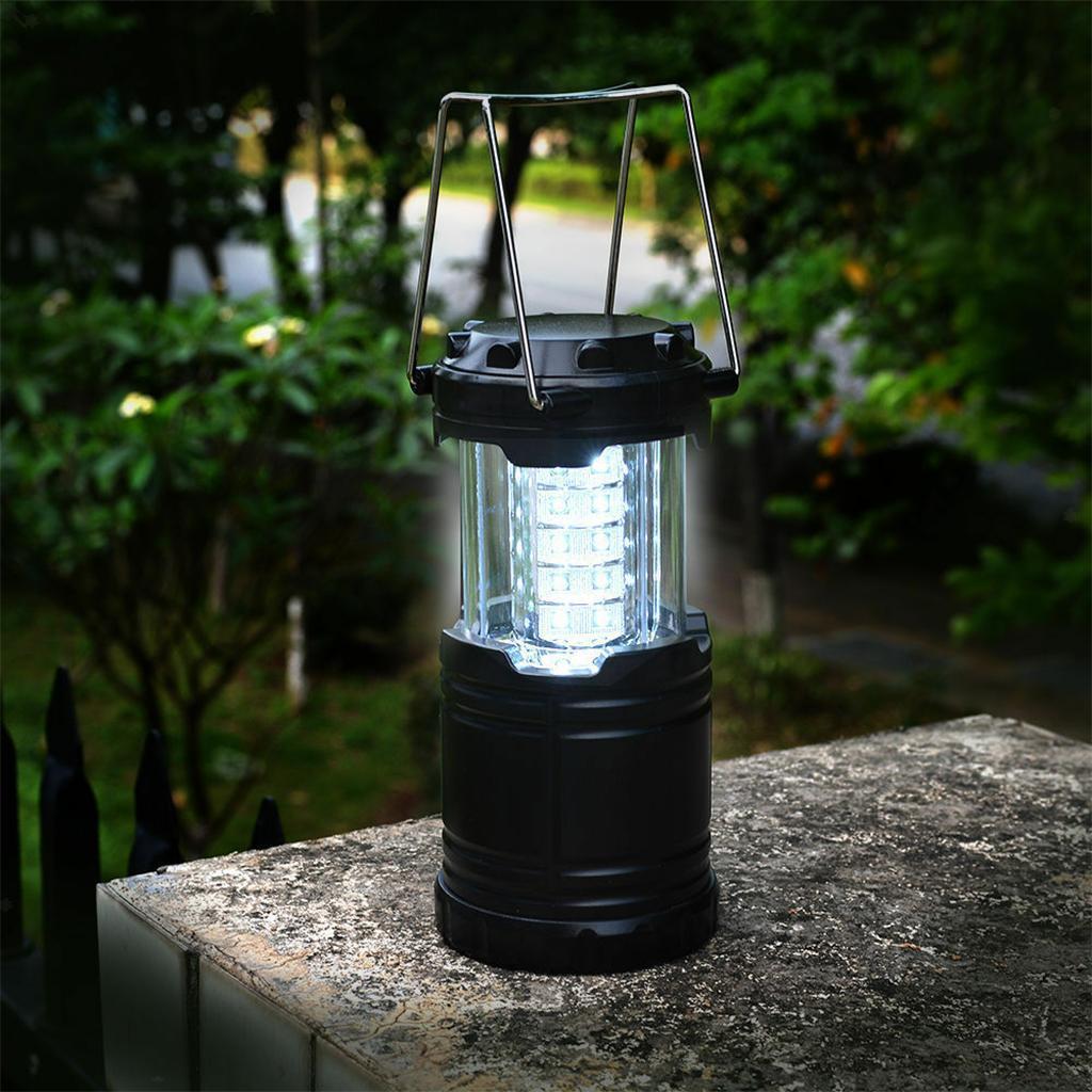 30 LED Camping Lantern Torch Battery Powered Portable Night Light Tent Lamp  | eBay