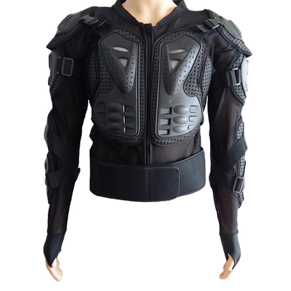 thumbnail 3 - Motorcycle-S-XXXL-Full-Body-Protection-Armor-Jacket-Racing-Spine-Chest-Gear