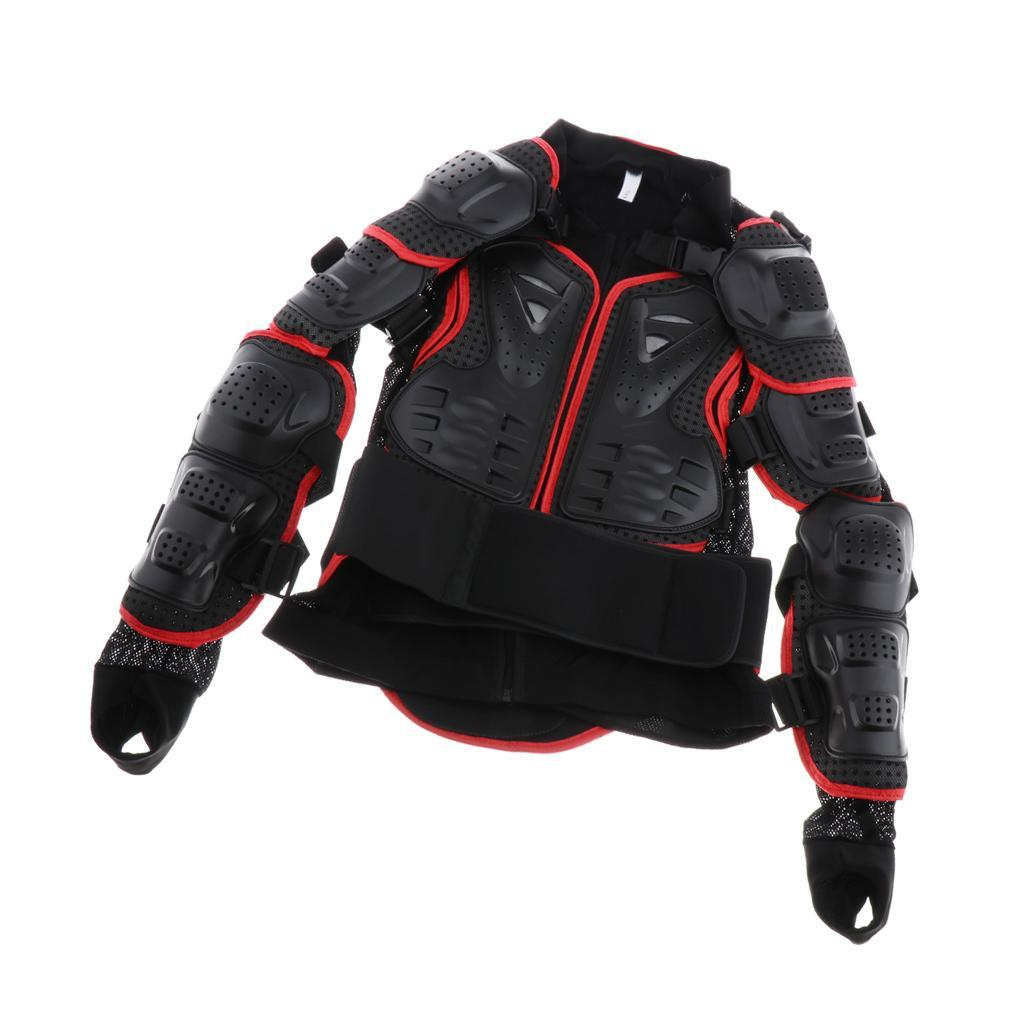 thumbnail 26 - Motorcycle-S-XXXL-Full-Body-Protection-Armor-Jacket-Racing-Spine-Chest-Gear
