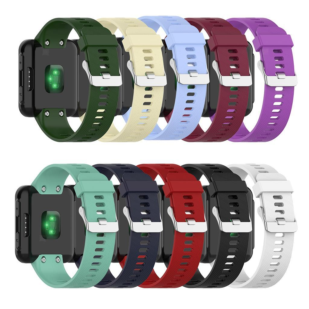 Unisex-Samrt-Watch-Strap-Bracelet-Silicone-Rubber-Band-for-Garmin-Forerunner thumbnail 13